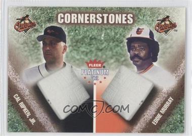 2002 Fleer Platinum [???] #2CS - Cal Ripken Jr., Eddie Murray /250