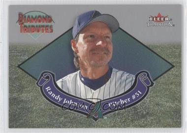 2002 Fleer Tradition Diamond Tributes #11 DT - Randy Johnson
