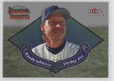 2002 Fleer Tradition Diamond Tributes #11 DT - Randy Johnson