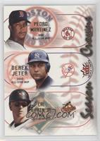 Pedro Martinez, Derek Jeter, Cal Ripken Jr.