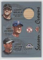 Larry Walker, Nomar Garciaparra, Todd Helton (Larry Walker Bat)