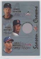 Randy Johnson, Pedro Martinez, Greg Maddux (Pedro Martinez Jersey)