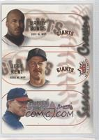 Barry Bonds, Jeff Kent, Chipper Jones
