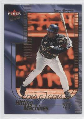2002 Fleer Ultra - Hitting Machine #8 HM - Tony Gwynn
