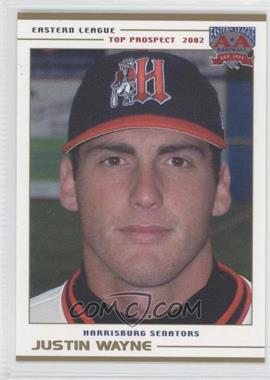 2002 Grandstand Eastern League Top Prospects - [Base] #JUWA - Justin Wayne