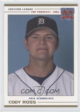 2002 Grandstand Eastern League Top Prospects #N/A - Cody Ross