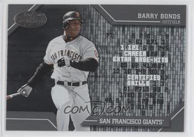 2002 Leaf Certified [???] #CS-1 - Barry Bonds