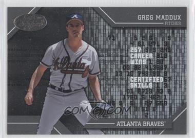 2002 Leaf Certified [???] #CS-2 - Greg Maddux
