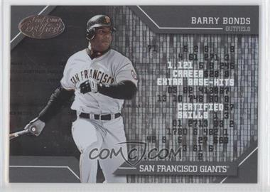 2002 Leaf Certified Skills #CS-1 - Barry Bonds