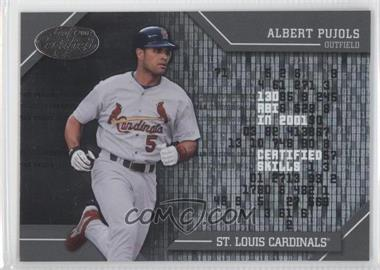 2002 Leaf Certified Skills #CS-11 - Albert Pujols