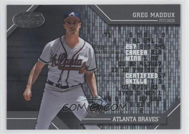 2002 Leaf Certified Skills #CS-2 - Greg Maddux