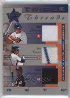Mike Piazza, Gary Carter, Rickey Henderson /100
