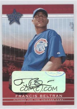 2002 Leaf Rookies And Stars - [Base] - Signatures [Autographed] #316 - Francis Beltran