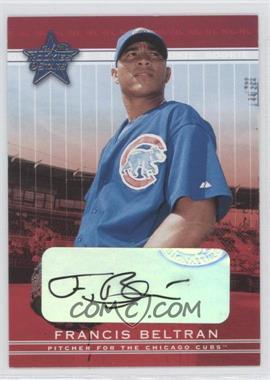 2002 Leaf Rookies And Stars [???] #316 - Francis Beltran