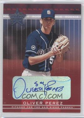 2002 Leaf Rookies And Stars Signatures [Autographed] #354 - Oliver Perez