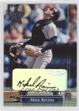 2002 Leaf Rookies And Stars Signatures [Autographed] #40 - Mike Rivera