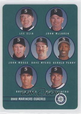 2002 Mother's Cookies Seattle Mariners - Stadium Giveaway [Base] #28 - Checklist