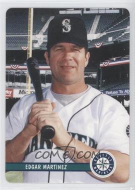 2002 Mother's Cookies Seattle Mariners - Stadium Giveaway [Base] #3 - Edgar Martinez