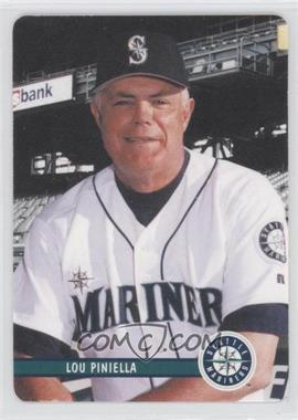 2002 Mother's Cookies Seattle Mariners Stadium Giveaway [Base] #1 - Lou Piniella