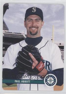 2002 Mother's Cookies Seattle Mariners Stadium Giveaway [Base] #21 - Paul Abbott