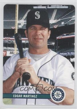 2002 Mother's Cookies Seattle Mariners Stadium Giveaway [Base] #3 - Edgar Martinez