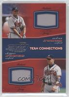 Andruw Jones, Chipper Jones /500