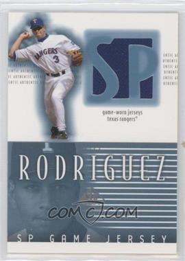2002 SP Authentic Game Jerseys #J-AR - Alex Rodriguez