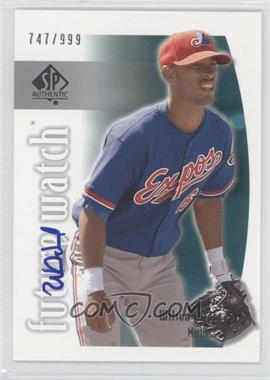 2002 SP Authentic #151 - Wilson Valdez /999