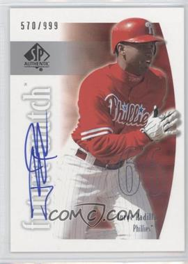2002 SP Authentic #159 - Jose Pagan /999