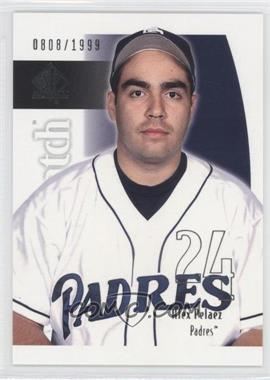 2002 SP Authentic #217 - Alex Pelaez /1999