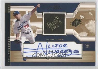 2002 SPx #121 - Prospect Autographs - Victor Alvarez