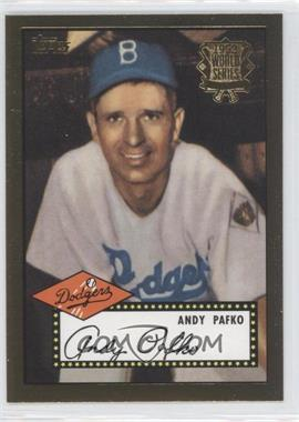 2002 Topps - 1952 Reprints #52R-4 - Andy Pafko
