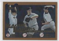 Hideo Nomo, Mike Mussina, Roger Clemens