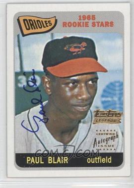 2002 Topps - Team Topps Legends Autographs #TT-PB - Paul Blair