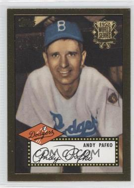 2002 Topps 1952 Reprints #52R-4 - Andy Pafko