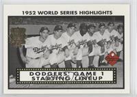 Brooklyn Dodgers Team