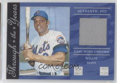 2002 Topps American Pie - Through the Years Relics #TTY-WM - Willie Mays