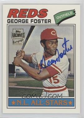 2002 Topps Archives - Autographs #TAA-GF - George Foster