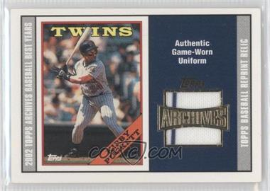 2002 Topps Archives - Reprint Relics #TUR-KP - Kirby Puckett