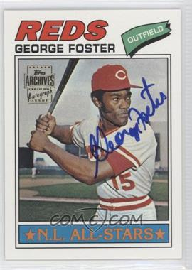 2002 Topps Archives Autographs #TAA-GF - George Foster