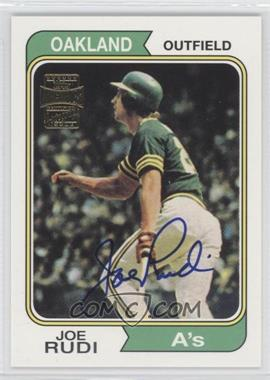 2002 Topps Archives Autographs #TAA-JR - Joe Rudi