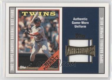 2002 Topps Archives Reprint Relics #TUR-KP - Kirby Puckett