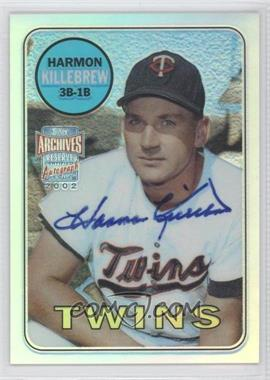 2002 Topps Archives Reserve Autographs #TRA-HK - Harmon Killebrew