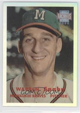 2002 Topps Archives Reserve #100 - Warren Spahn