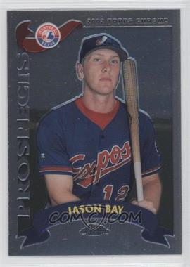 2002 Topps Chrome - [Base] #326 - Jason Bay