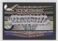 Colorado Rockies Team /50