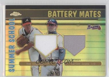 2002 Topps Chrome Summer School Battery Mates Refractor #BMC-GL - Tom Glavine, Javy Lopez