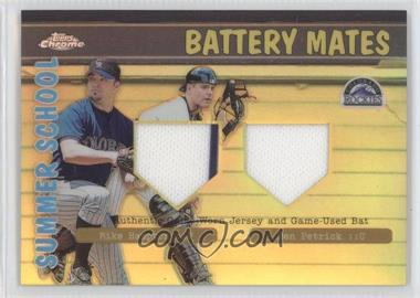 2002 Topps Chrome Summer School Battery Mates Refractor #BMC-HP - Mike Hampton, Ben Petrick
