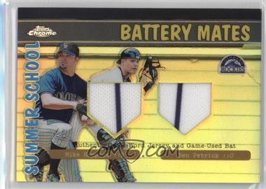 2002 Topps Chrome Summer School Battery Mates Refractor #BMC-HP - Mike Hampton, Ben Petrick
