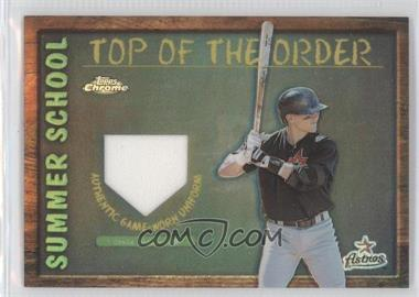2002 Topps Chrome Summer School Top of the Order Refractor #TOC-CB - Craig Biggio